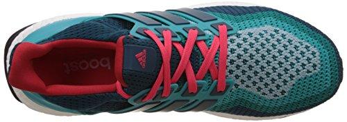 adidas Ultra Boost, Chaussures de Running Entrainement Homme, Bleu Multicolore (Clegrn/Minera/Shored)