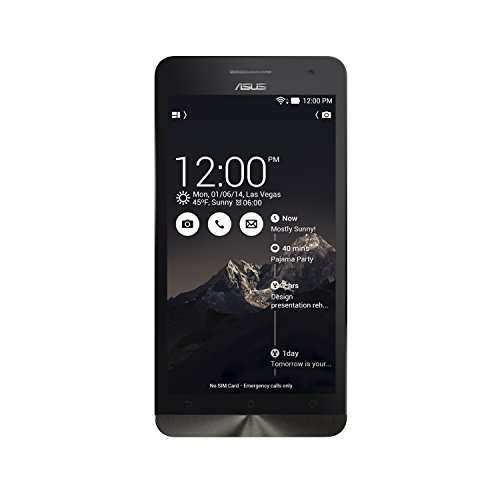 Asus ZenFone 6-Inch SIM-Free Smartphone - Black