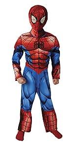 Spiderman - Disfraz ultimate premium, talla M (Rubie