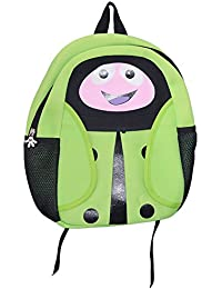Saamarth Impex Two Color (Green And Black)Mix And Cartoon Print Design Stylish Bag For School Students SI-3231