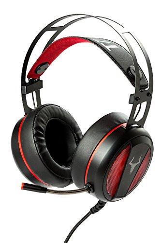 iTek ITHH800 Binaural Head-band Black headset - Headsets (Game console + PC/Gaming, 7.1 channels, Binaural, Head-band, Black, Red)