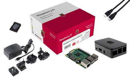 41M3k1gYrIL - RoHS Raspberry Pi 3 Kit Premium