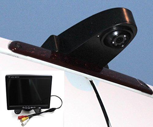"""Komplettset Rückfahrkamera Transporter mit 7\"""" Monitor und 15m Spezialkabel Sprinter Crafter Ducato Transit und viele Typen mehr Transporterkamera"""