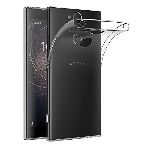 AICEK Sony Xperia XA2 Hülle, Transparent Silikon Schutzhülle für Sony XA2 Case Clear Durchsichtige TPU Bumper Xperia XA2 Handyhülle (5,2 Zoll)