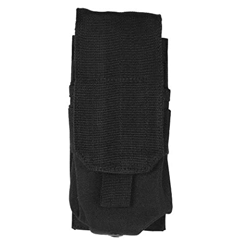 Army Combat Single M4/M16 Magazine Ammo Pouch MOLLE System Airsoft Webbing Black