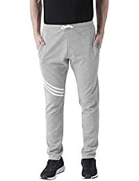 Club York Men Grey Cotton Blended Track Pant