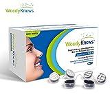 WoodyKnows 3 in 1 Anti Allergie Nasenfilter kombiniert Ultra-Atmungsaktiv, Super Defense und Gas- und Schmutzreduzierung in einem zur Linderung von Pollen und Stauballergien