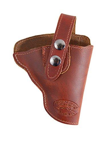 Barsony Holsters & Belts Größe 1 S&W Stier Colt Charter Arme rechte Seite Braun Leder Gürtelholster