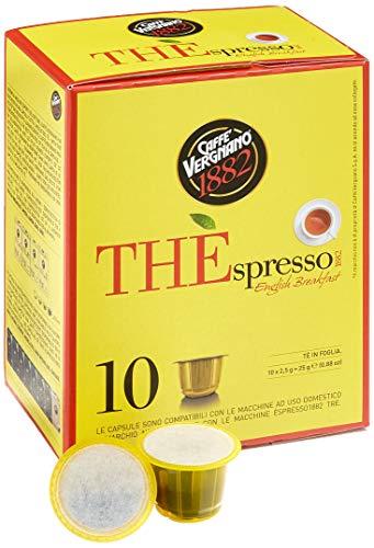 Caffè Vergnano Thespresso-English Breakfast Tee Kapseln, 1 pack ( 25 g)