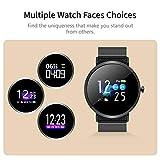 Mengen88 Smart Armband 1.01 Zoll Farbbildschirm IP67 Waterproof Fitness Tracker mit Blood Pressure...