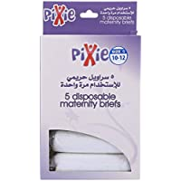 Pixie Disposable Maternity Brief (Size 10-12), Pack of 5