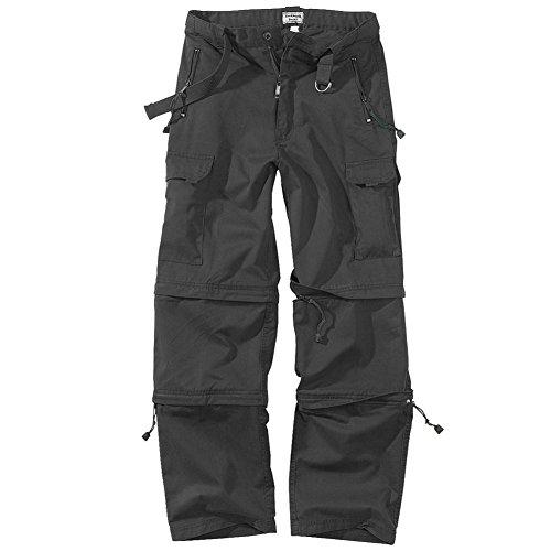 Cotton Zip-off-hose (Surplus Trekking Hose Schwarz Größe S)