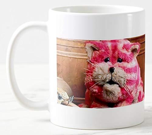 Bagpuss 11 oz Large Handle Ceramic Tea/Coffee Mug, Can be Personalised