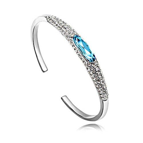 rarelove-swarovski-elements-aquamarine-crystal-18k-gold-plated-round-bangle-bracelet