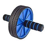 Good Times Ab Wheel, Ab Wheel Roller met 18 cm wielen en kniesteun, buiktrainer met kniemat voor fitness, buikroller, buikspiertraining, spieropbouw, spiertrainer