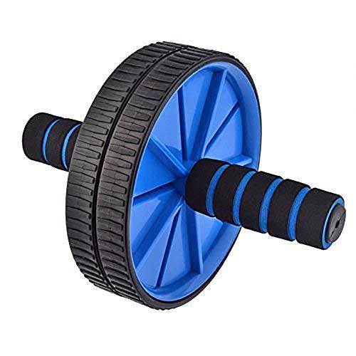 Good Times Ab Wheel, Ab Wheel Roller, AB Roller mit 18cm Rädern und Knieauflage, Bauchtrainer mit Kniematte für Fitness, Bauchroller, Bauchmuskeltraining Muskelaufbau, Muskeltrainer