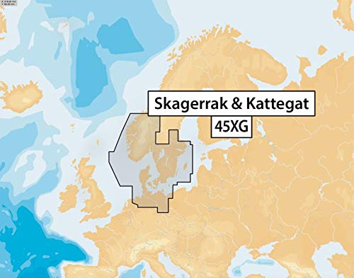 Navionics+ 45XG Skagerrak & Kattegat, CF-Karte