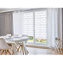 "'K""Wave Home Klemmfix Roller Blind No Drilling Required) White 60 cm x 150 cm (W x L)"