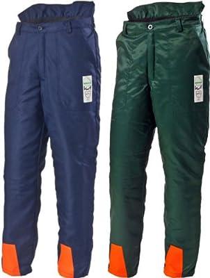 Hochwertige Schnittschutz-Bundhose Forsthose EN381 Schnittschutzhose (52, grün)