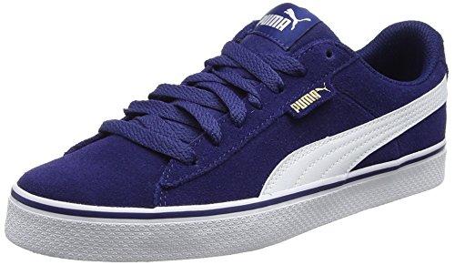 Puma Unisex-Erwachsene 1948 Vulc Sneaker, Blau (Blue Depths-White), 37 EU