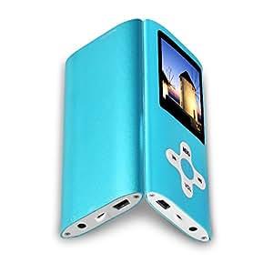 """Btopllc 8GB Micro SD Karte MP3-MP4 MP3-Player MP4-Player 1.7 """"Screen Music Video Media Player Tragbare Voice Recording-Player Medien, Bildansicht, Spiele, Kopfhörer und USB-Kabel"""