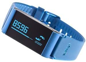 Withings Pulse Ox - Tracker von Aktivität, Schlaf, Herzschlag + SPOx für iOS und Android - Blau