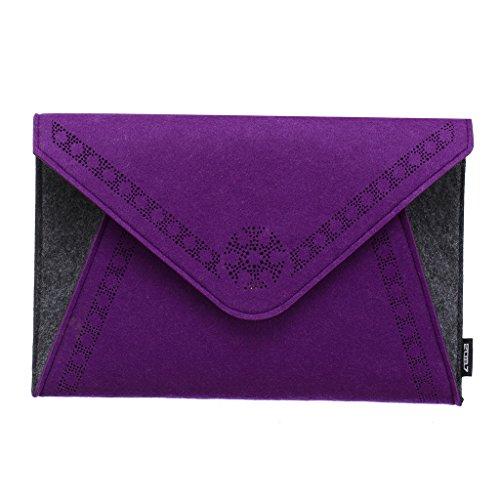 2087 Femme Sac Pochette Soirée Portefeuille Porte Monnaie Sac à Main 02-Violet