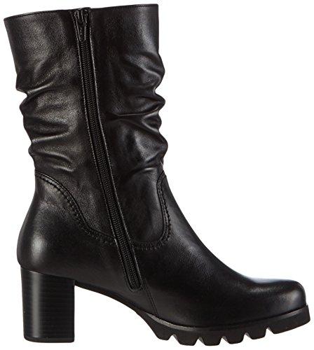 Gabor Comfort Fashion, Stivali classici imbottiti a gamba corta donna Nero (Schwarz (schwarz 27))