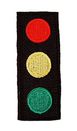 Aquatic Team Zissou Traffic Light Logo Patch Kostüm Cap bestickt (The Life Aquatic Kostüm)