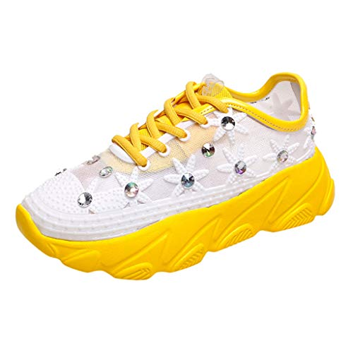 Sunnyadrain Scarpe da Trekking Donna Uomo Running Scarpe da Montagna All'aperto Mesh Respirabile Antiscivolo Sneakers