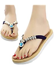 Clode® Femmes Chaussures plates Sandales Femmes Mode Casual Shoes Sandales de plage