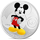 Mickey À Travers Les Âges 10? Moneda Plata - Francia 2016