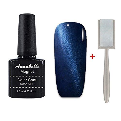 Annabelle Vernis Magnétique Vernis à Ongles Semi Permanent Gel UV LED Nail Art Soak Off Manucure (comprend l'aimant) 6593