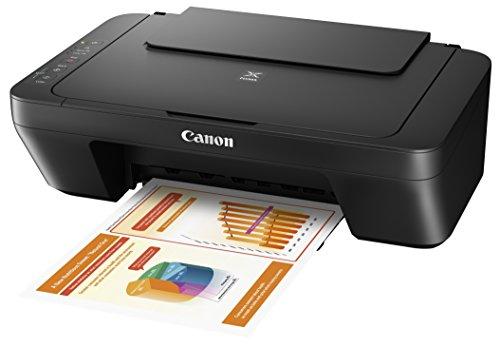Canon Pixma MG2555S Farbtintenstrahl-Multifunktionsgerät (Drucker, Scanner, Kopierer, USB) Schwarz