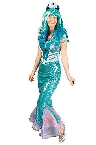 Damen Meerjungfrau Kleine Kostüm (NEU Damen-Kostüm Meerjungfrau, Gr.)