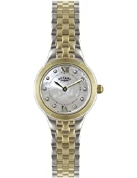 Rotary Watches Ladies Two Tone Bracelet Watch