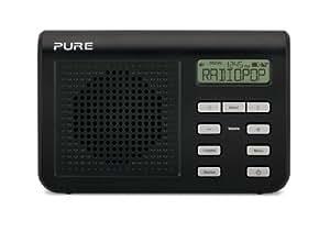 Pure One Mi Series 2 Portable DAB Digital and FM radio - Black