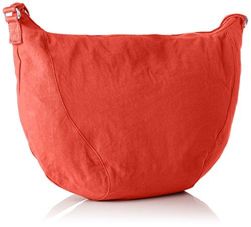 Kipling Damen Nille Schultertasche, 48x30x0.1 cm Orange (Galaxy Orange)