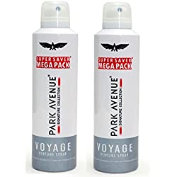 Park Avenue Men's Deo, Mega Voyage Signature, 334g (Pack of 2)