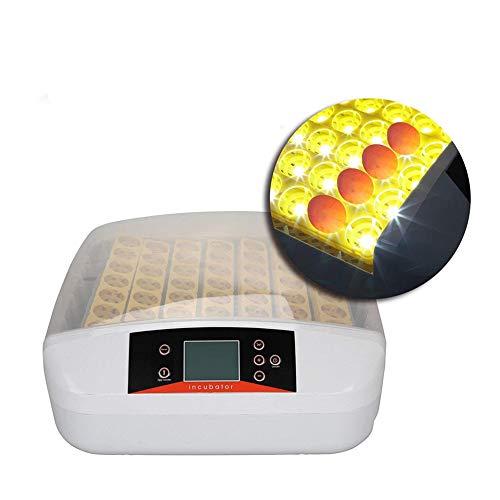 Iglobalbuy Inkubator Brutapparat 56 Eier Brutautomat Brutmaschine mit Arbeitsanzeigelampe