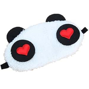 masque de sommeil visage panda cache de nuit reposante. Black Bedroom Furniture Sets. Home Design Ideas