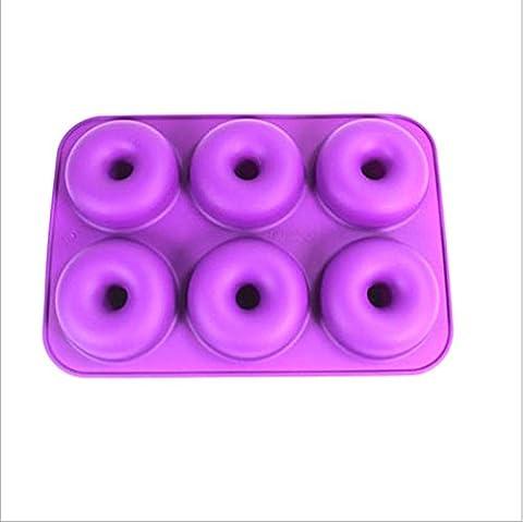Jysport Moules en silicone gâteau au chocolat Cookies Sweet Moule à glaçons Savon Moule Décoration Moules, Donuts