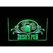 Irish Pub Bombilla LED Cartel Cartel Cargar Reklame Neon Neon Cartel Bar Disco