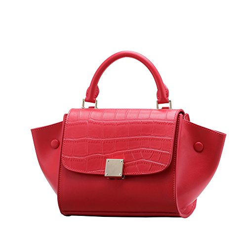 KASEBAY - Borsa a tracolla Ragazza donna Red