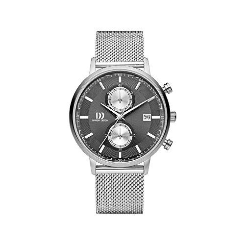 DANISH DESIGN Reloj Analógico para Hombre de Cuarzo con Correa en Acero Inoxidable IQ64Q1215