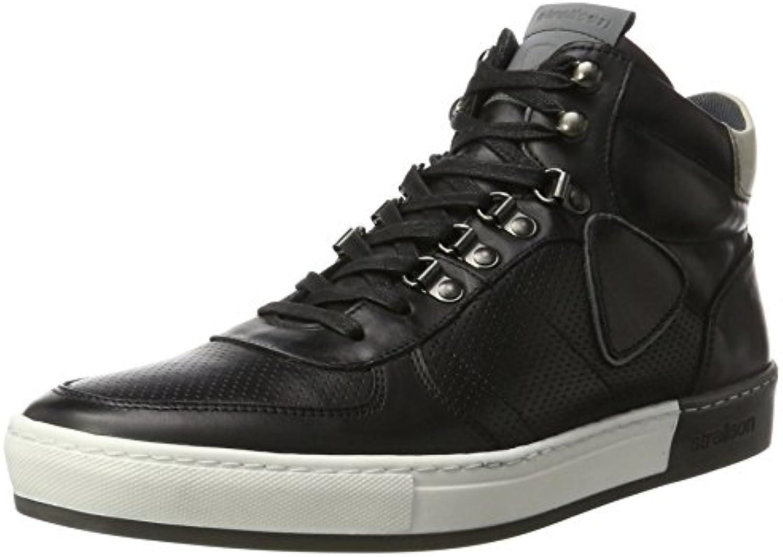Strellson Herren Radcliffe Evans Sneaker Mfu  Schwarz Black  41 EU