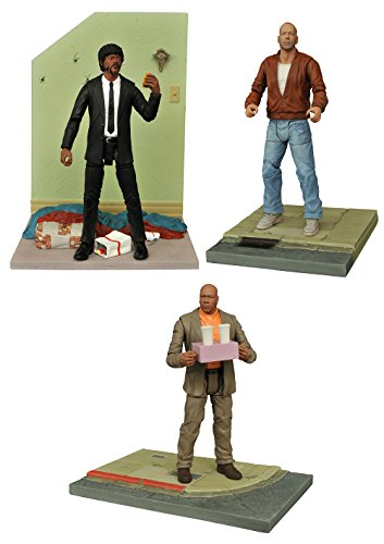 Diamond Select–Pulp Fiction Set Completo Figuras, 699788825983