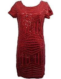 JOTHIN Damen Mode Elegant Partykleid Slim Fit Stretch Dress Casual College  Abendkleider Sexy Süße a- 6fce947614