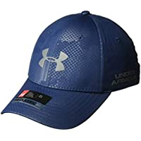 Under Armour, Men'S Golf Headline 2.0 Cap, Cappellino, Uomo, Blu (Academy/Rhino Gray), M/L