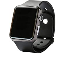 Smart Bluetooth Watch for Smart Devices Like iPhone and Samsung - Black